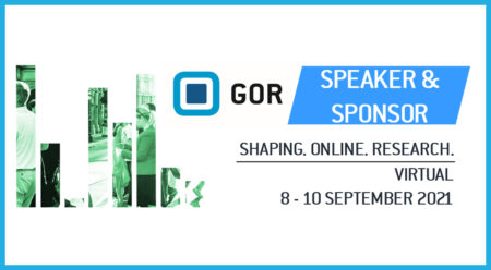 Save the Date – It's time for the virtual GOR