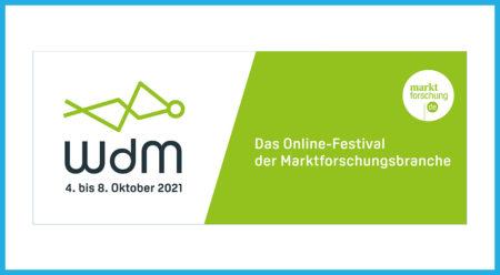 Woche der Marktforschung has started – we're part of it again!
