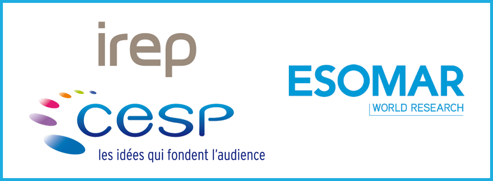 IREP-CESP / ESOMAR : jeudi et vendredi, respondi est de sortie