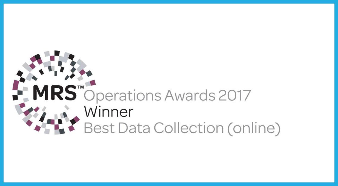 respondi remporte un MRS Operations Award 2017 dans la catégorie « Best Data Collection (online) »