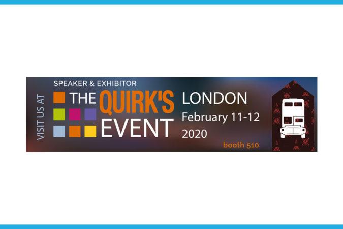 respondi au Quirks 2020 à Londres