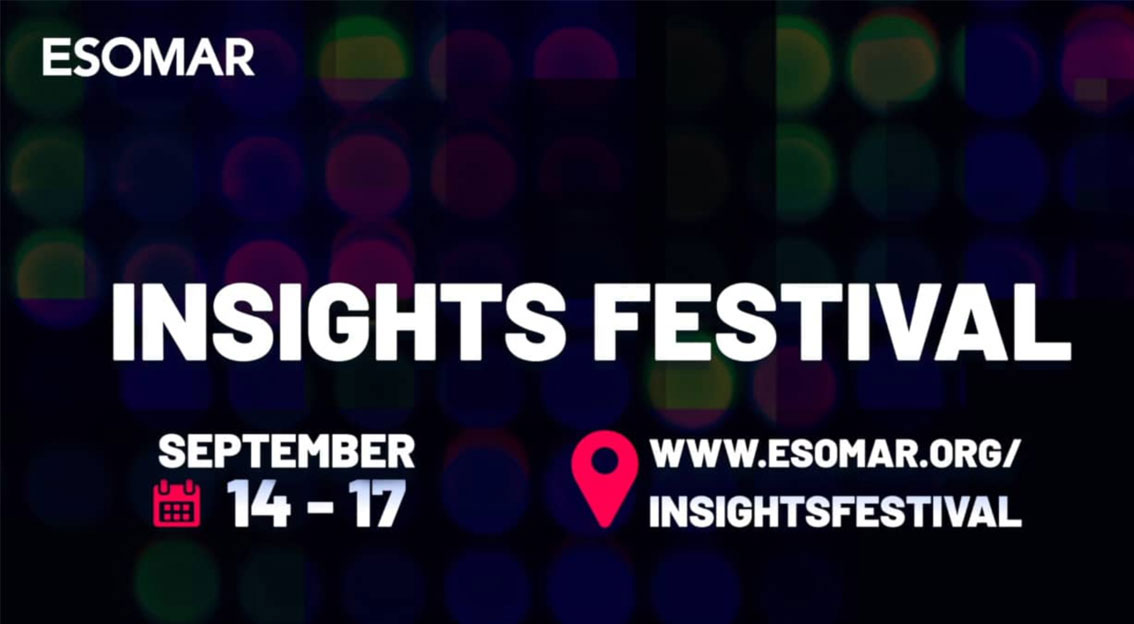 ESOMAR Insights Festival passe en version digitale – et respondi y participe !