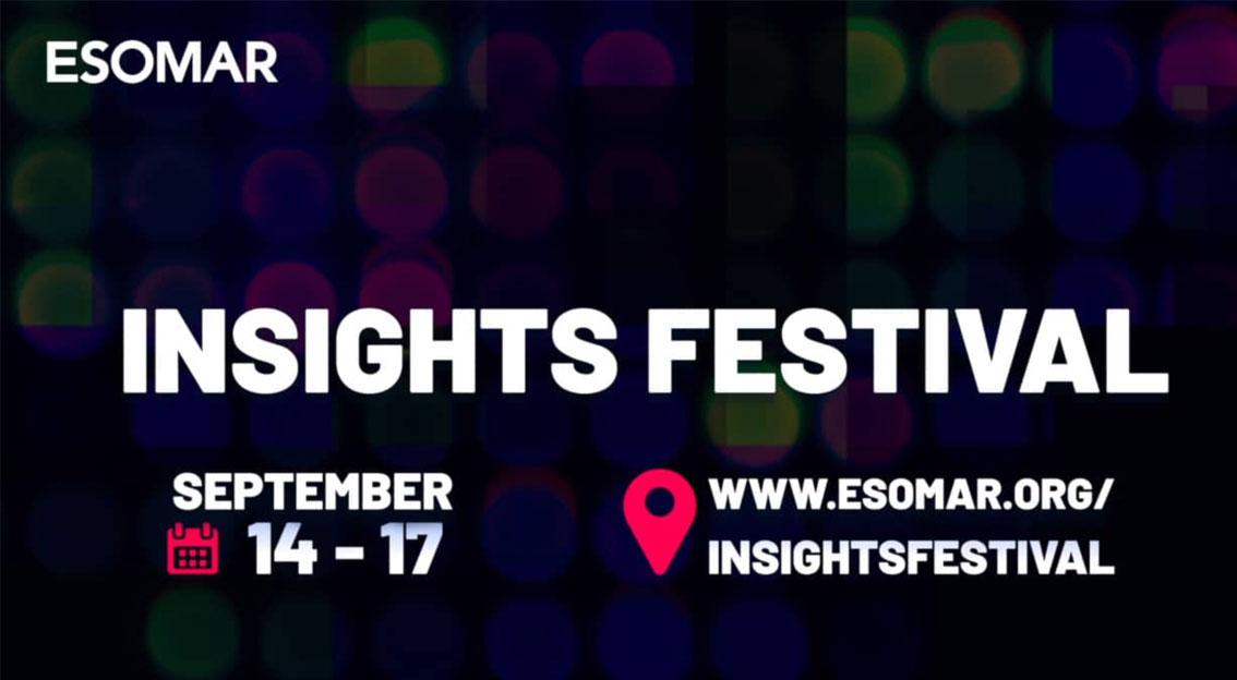ESOMAR Insights Festival passe en version digitale – et respondi y participe !