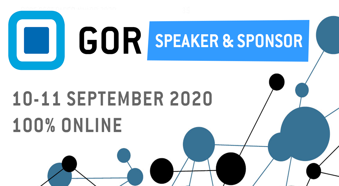respondi sera présent à la conférence GOR 2020 en tant que sponsor et speaker