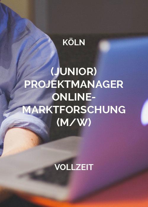 Junior Projektmanager Online-Marktforschung Köln2