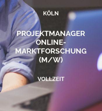 Projektmanager Online-Marktforschung Köln2