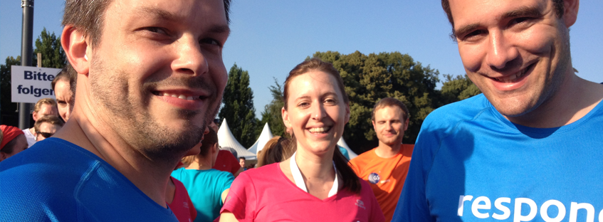 respondi auf dem HRS BusinessRun Cologne