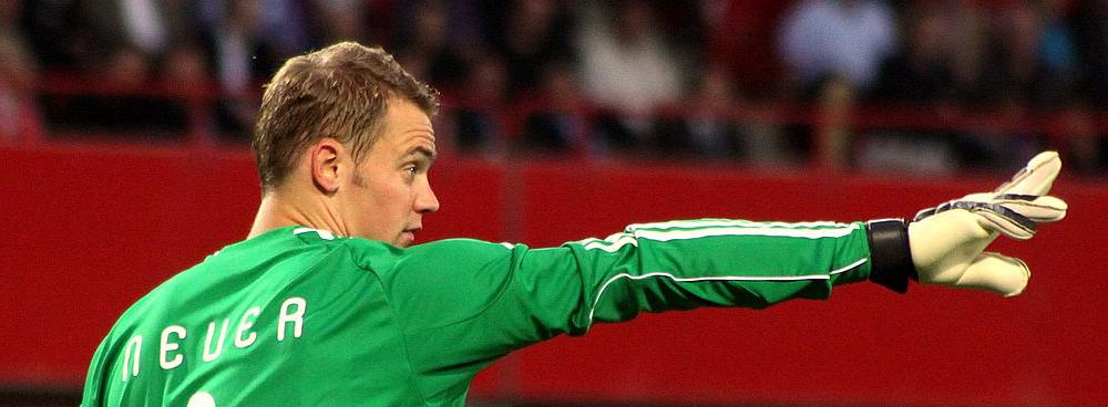 Manuel Neuer für die Deutschen Sportler des Jahres 2014