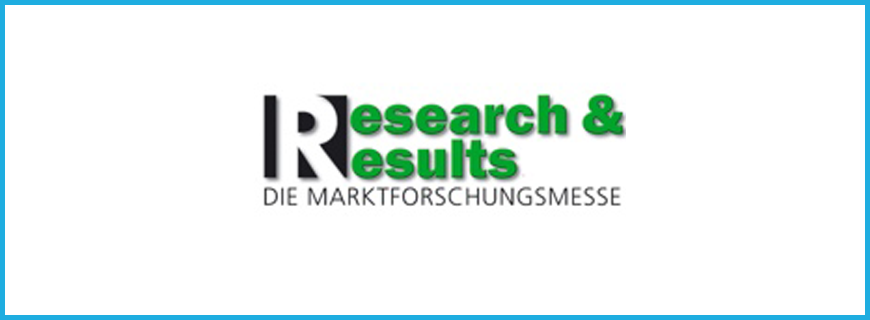 Research & Results 2007 – die Marktforschungsmesse