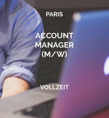 Account Manager Paris