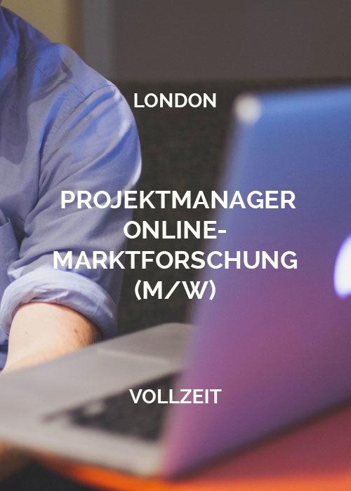 Projektmanager Online-Marktforschung London