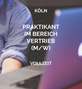 Praktikant Vertrieb Köln