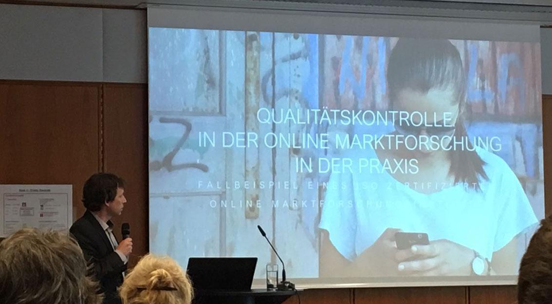 """respondi auf der internationalen Konferenz """"Qualität in der Markt-, Meinungs- und Sozialforschung"""""""