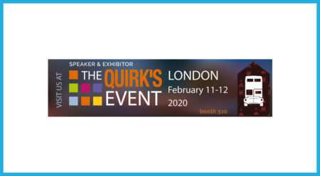 respondi auf dem Quirks Event 2020 in London