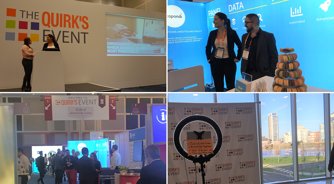 respondi zurück vom Quirks Event 2020 in London