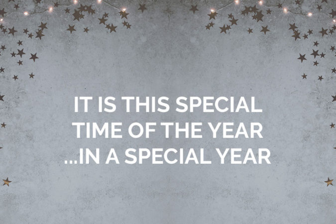 It is this special time of the year….in a special year